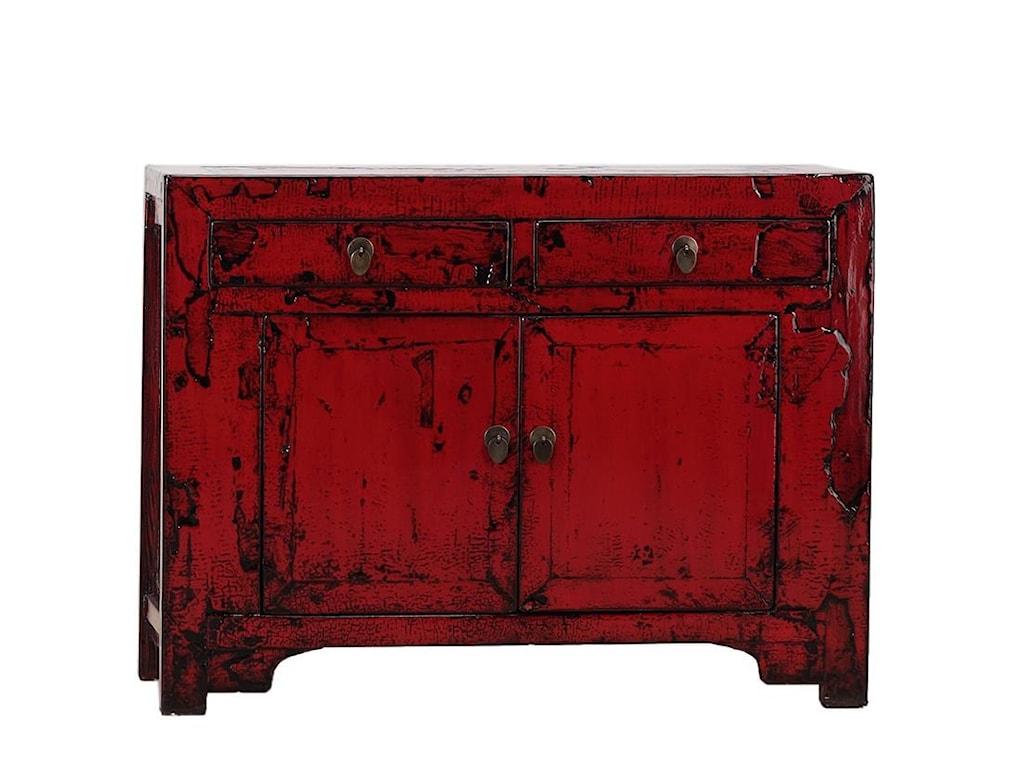 C.S. Wo & Sons Antiques2 Door Cabinet