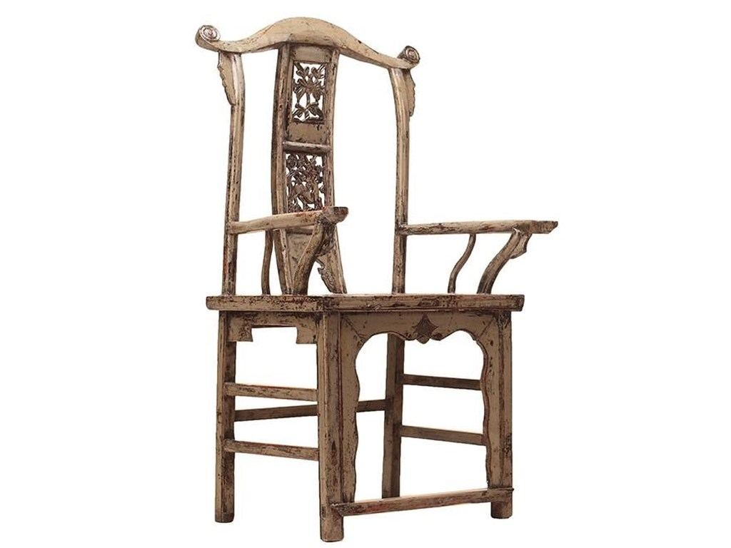 C.S. Wo & Sons AntiquesOfficial Hat Arm Chair