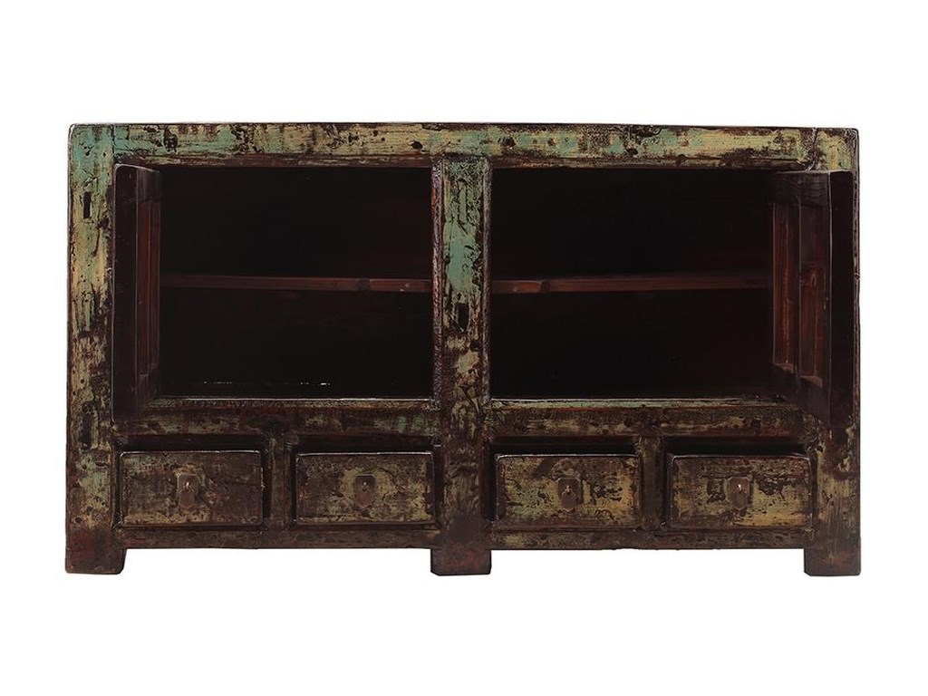 C.S. Wo & Sons Antiques2 Door Cabinet