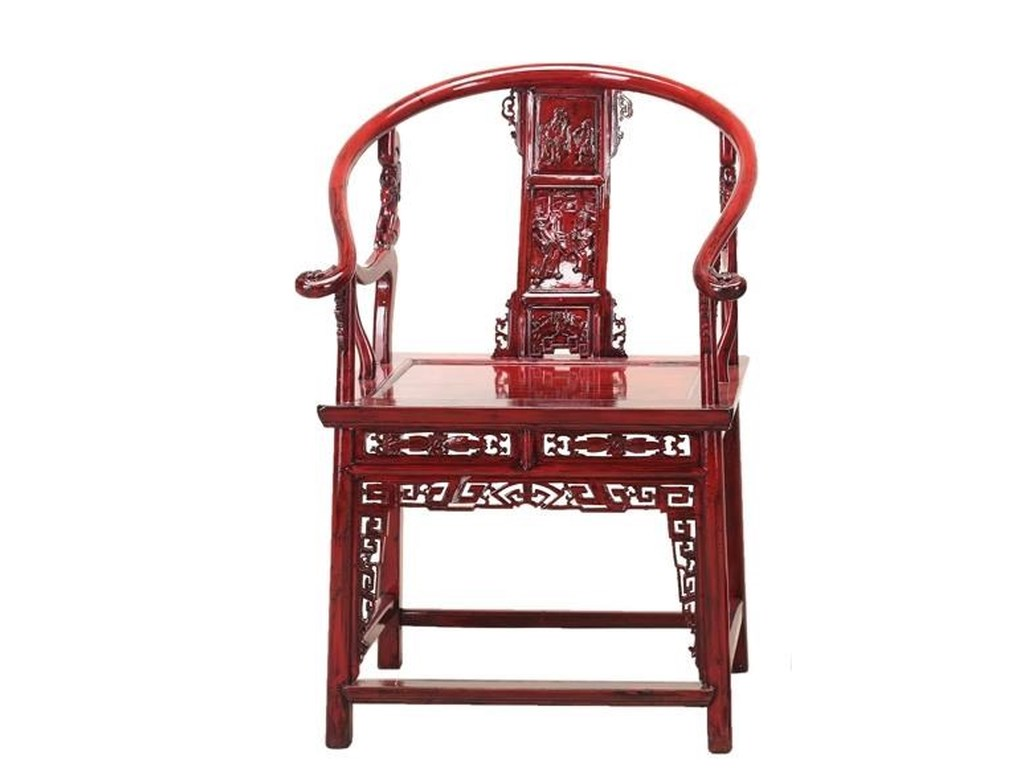 C.S. Wo & Sons Antiques Chair - C.S. Wo & Sons Antiques Chair C. S. Wo & Sons Hawaii Dining Arm