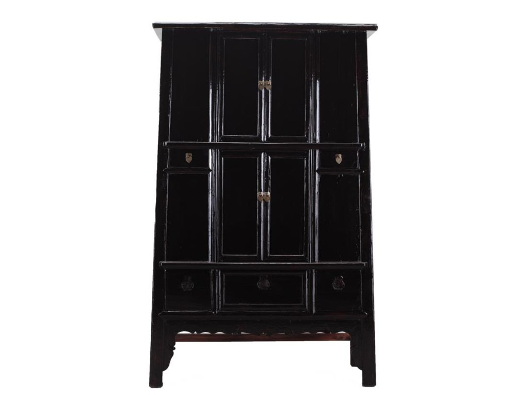 C.S. Wo & Sons Antiques4 Door Cabinet