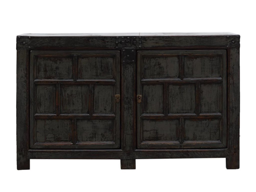 C.S. Wo & Sons Antiques2 Drawer Cabinet