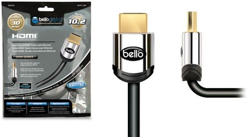 Bell'O AV Cable 6FT High Speed Gold Tipped HDMI Cable