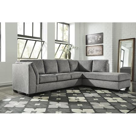 RAF Corner Chaise + LAF Sofa