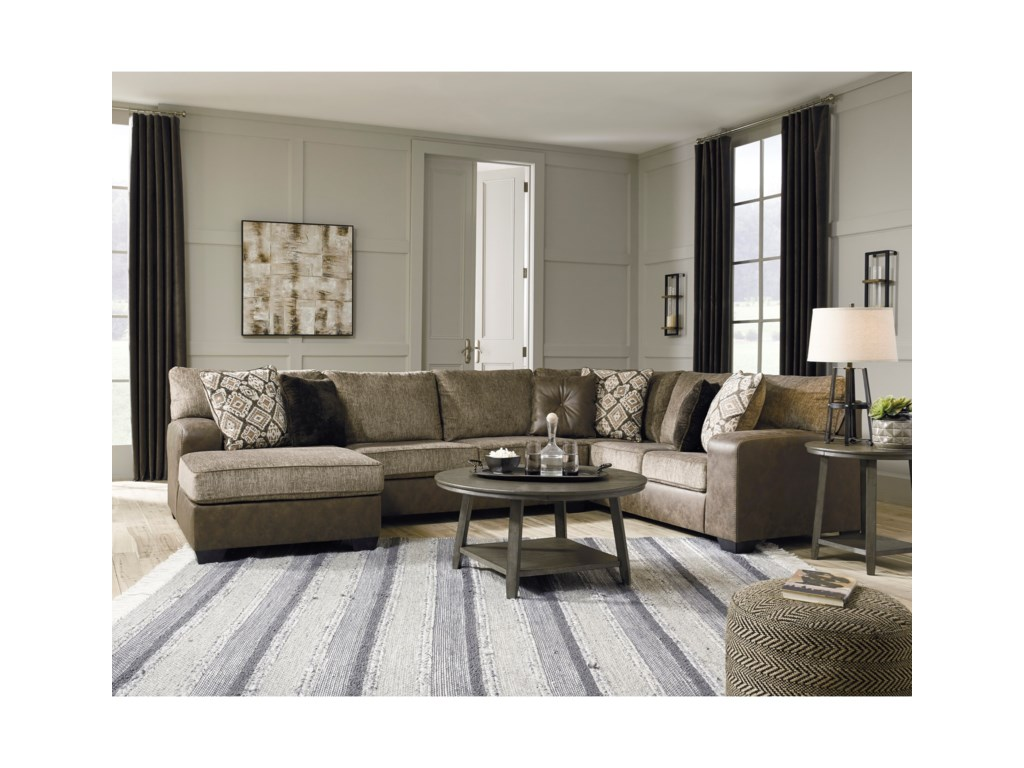Benchcraft Abalone3-Piece Sectional