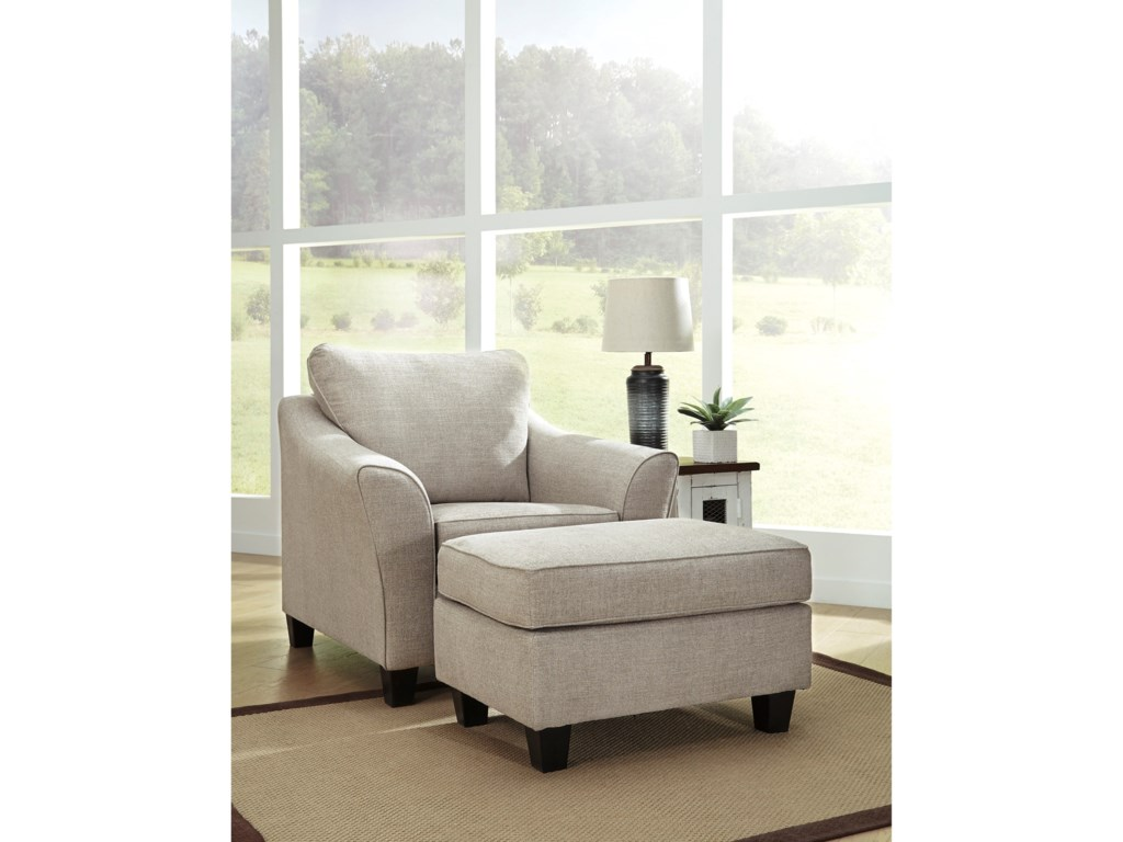 Ashley AbneyChair and Ottoman