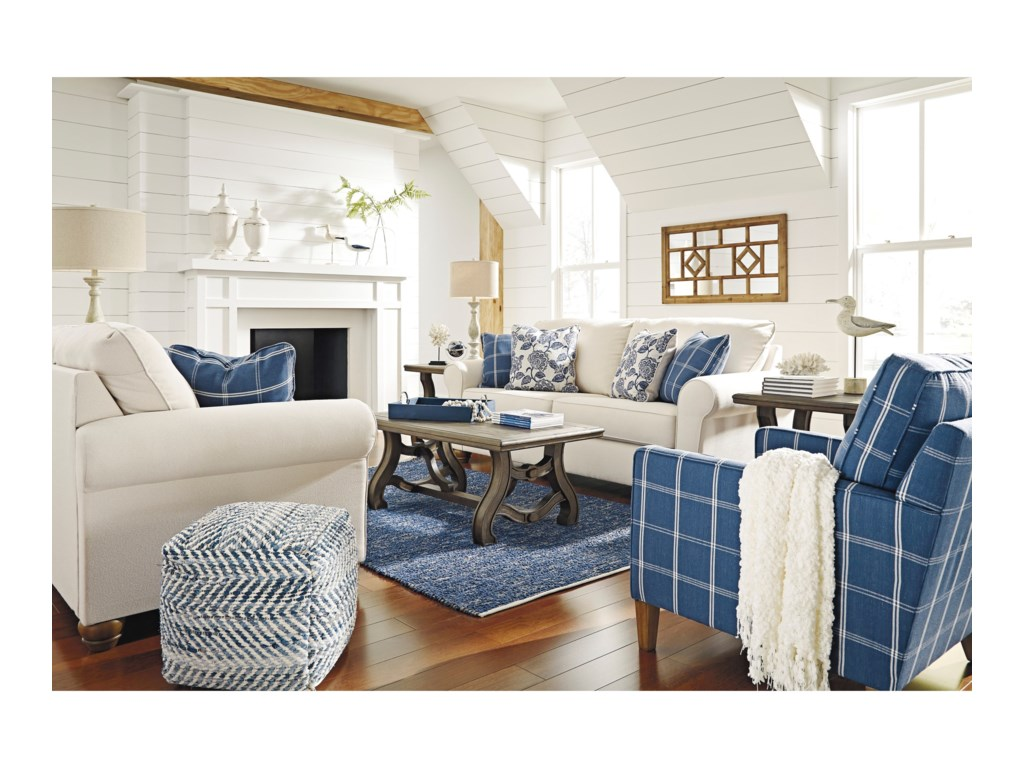 Benchcraft AdderburyStationary Living Room Group