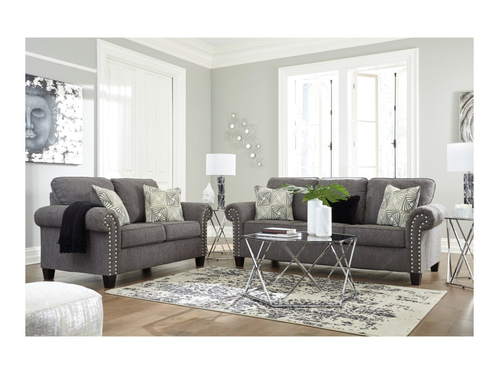 Signature Design By Ashley AglenoLiving Room Group