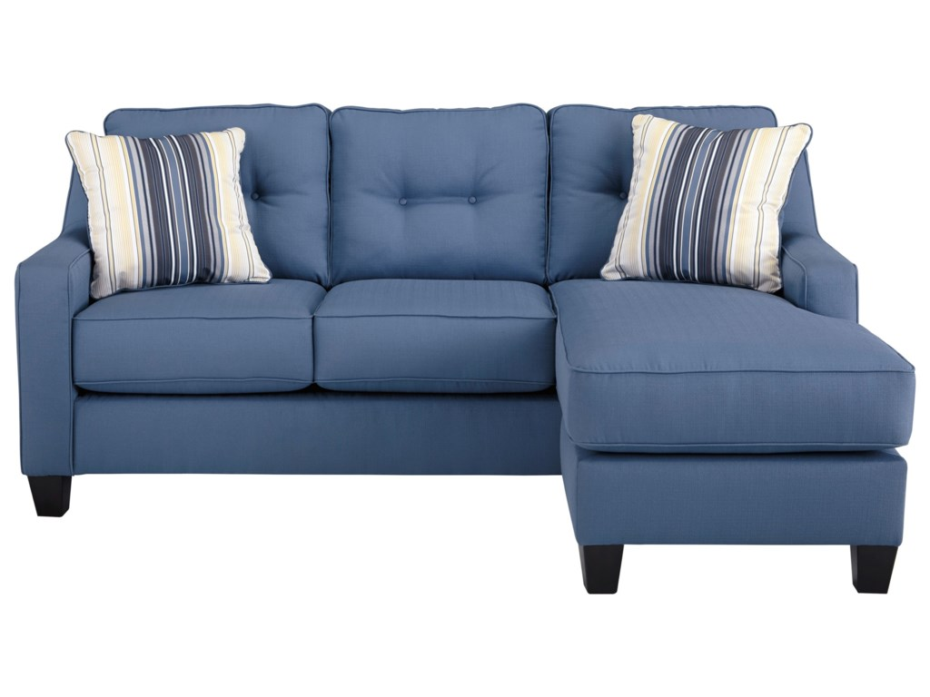 Benchcraft By Ashley Al Nuvellaqueen Sofa Chaise Sleeper