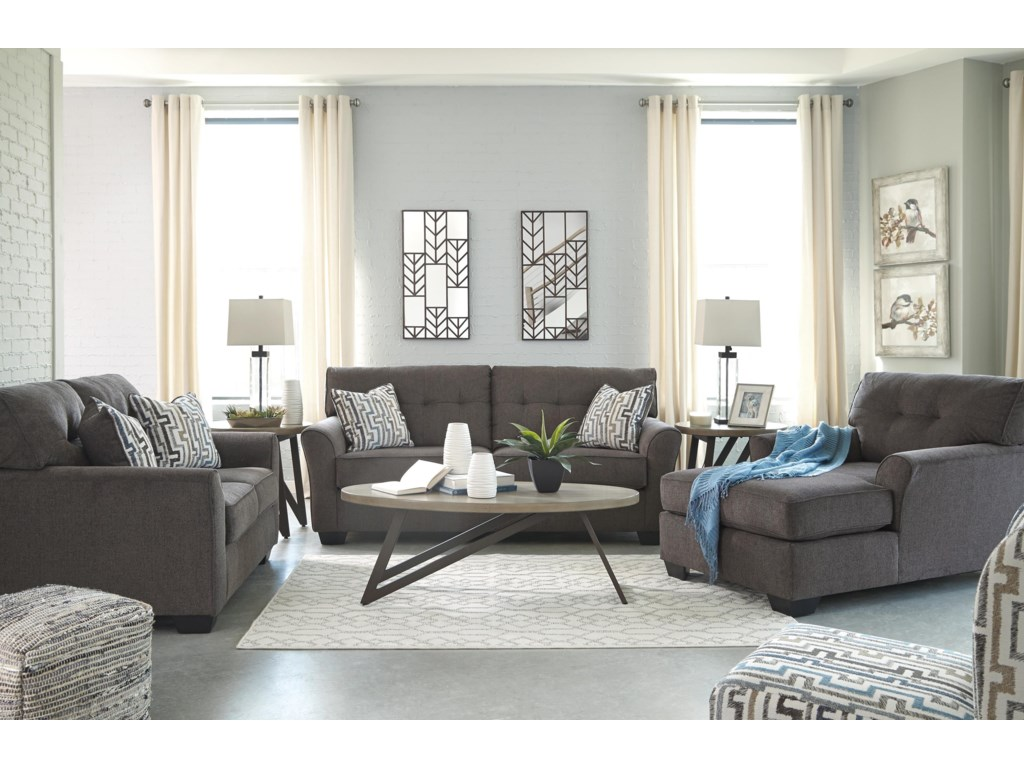 Benchcraft AlsenSofa, Loveseat, Chaise and Accent Chair Set