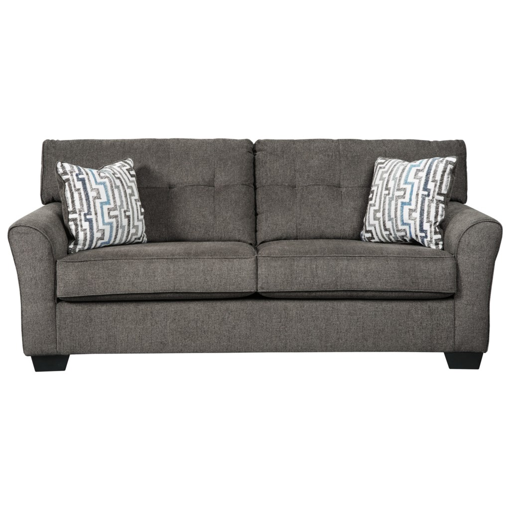 Benchcraft Alsen Contemporary Full Sofa Sleeper With Tufted Back