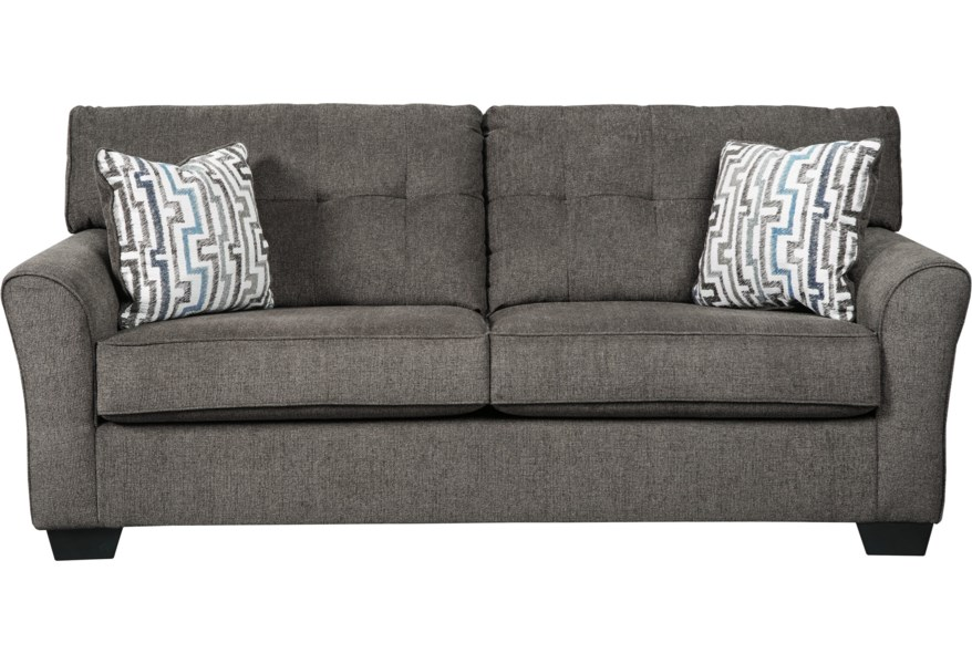Alsen Contemporary Full Sofa Sleeper with Tufted Back by Benchcraft at  Corner Furniture