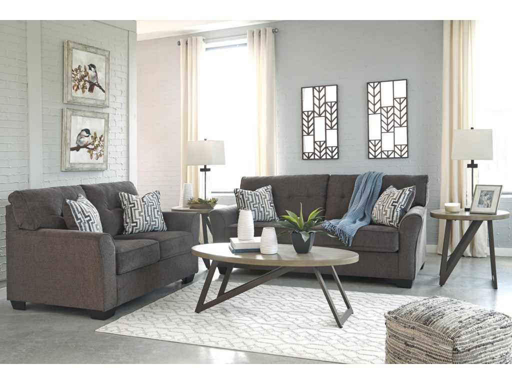 Benchcraft AlsenSofa and Loveseat Set