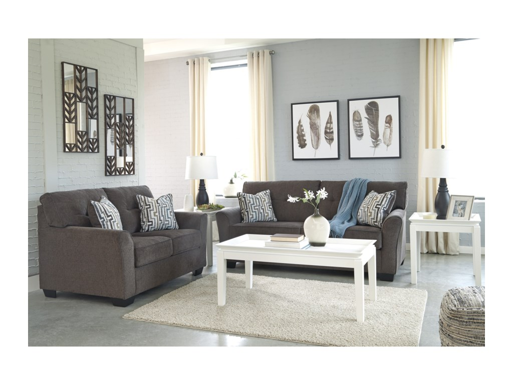 Signature Design By Ashley AlsenStationary Living Room Group