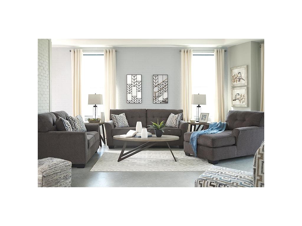 Signature Design By Ashley AlsenStationary Living Room Group
