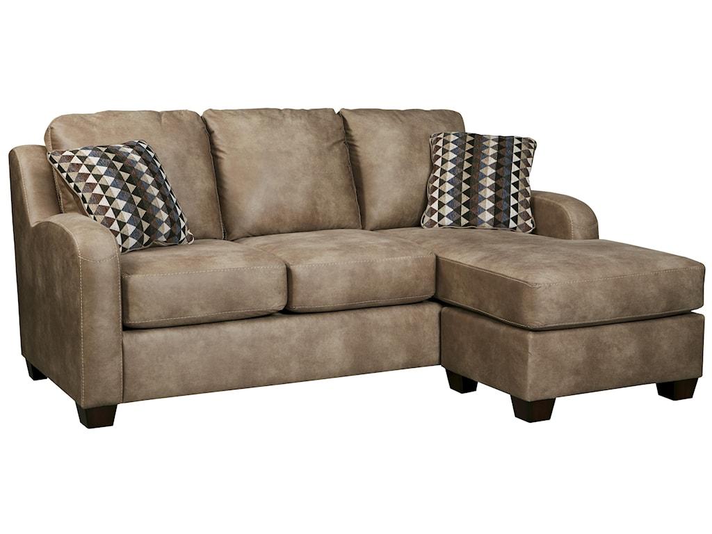 Trendz ColumbusQueen Sofa Chaise Sleeper