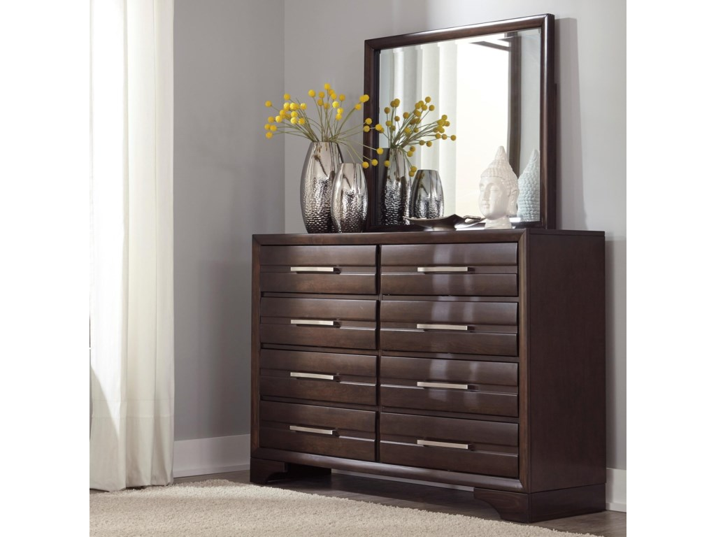 Benchcraft AndrielDresser & Bedroom Mirror