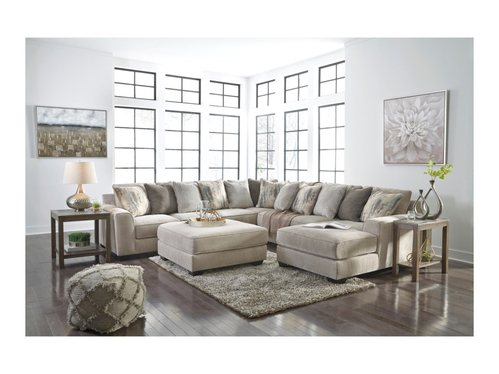 Signature Design By Ashley ArdsleyStationary Living Room Group