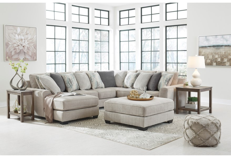 Ardsley Contemporary 4 Piece Sectional