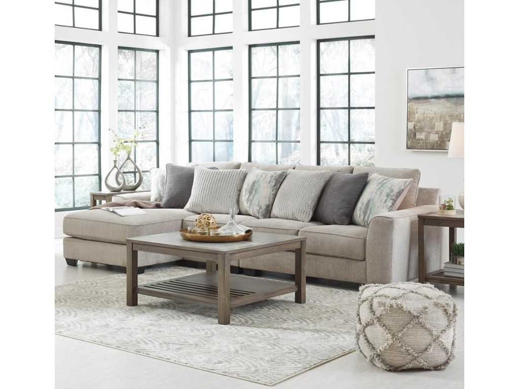 Benchcraft by Ashley Ardsley3-Piece Sectional with Left Chaise
