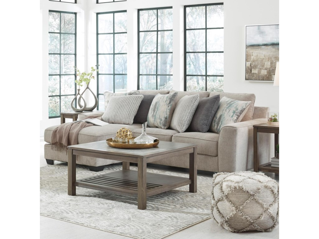 Benchcraft Ardsley2-Piece Sectional with Left Chaise