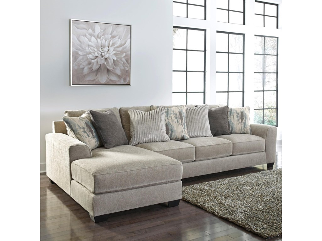 Signature Design By Ashley Ardsley2-Piece Sectional with Left Chaise
