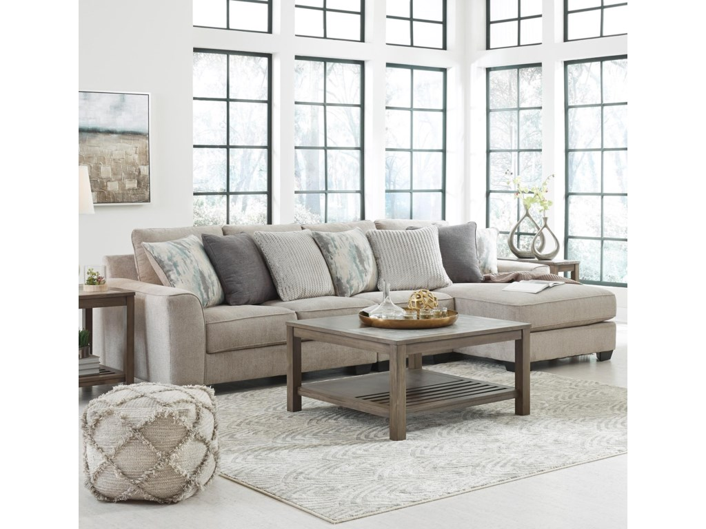 Benchcraft by Ashley Ardsley3-Piece Sectional with Right Chaise