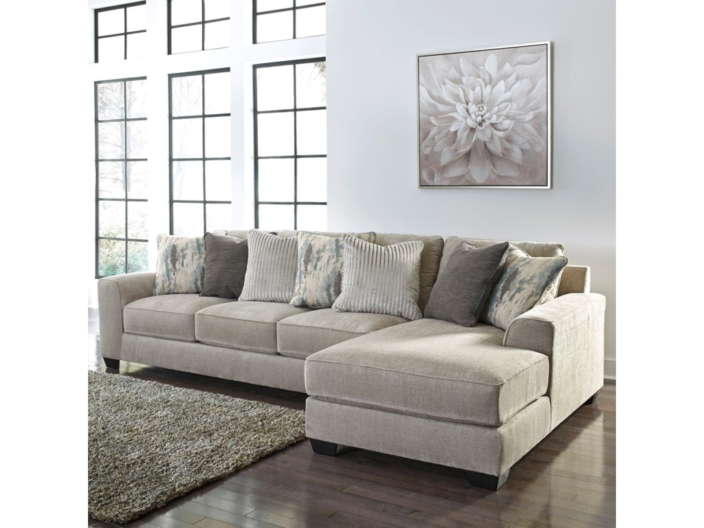 Benchcraft Ardsley2-Piece Sectional with Right Chaise