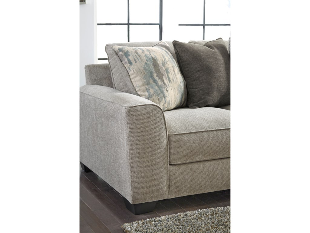 Signature Design By Ashley Ardsley2-Piece Sectional with Right Chaise