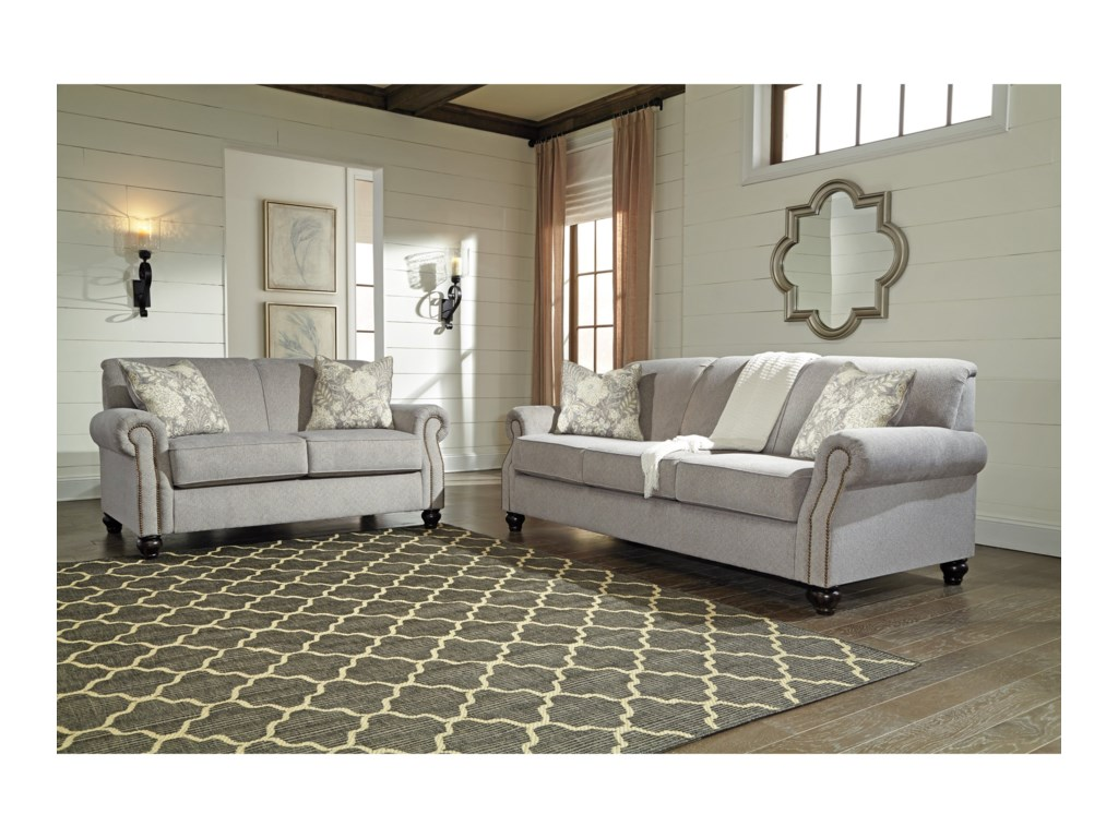 Benchcraft AvelynneStationary Living Room Group