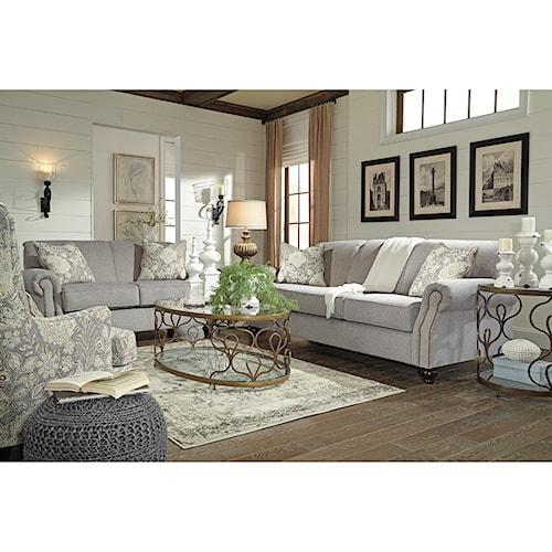 Benchcraft Avelynne Stationary Living Room Group