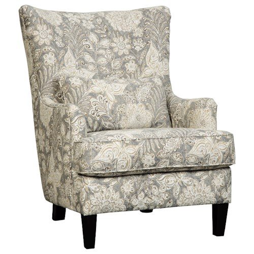 Benchcraft Avelynne Contemporary Wing Back Accent Chair