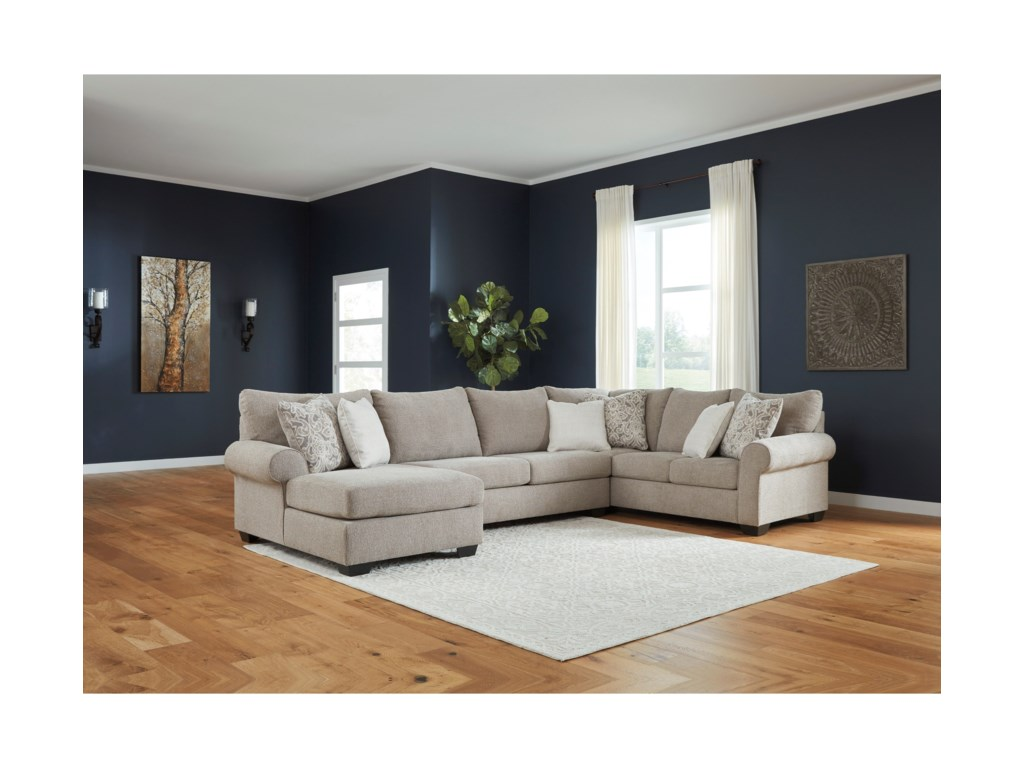 Benchcraft Baranello3-Piece Sectional with Left Chaise
