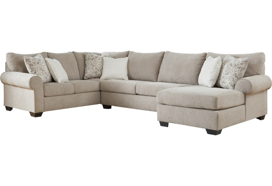 Benchcraft Baranello 5150348+34+17 Transitional 3-Piece Sectional
