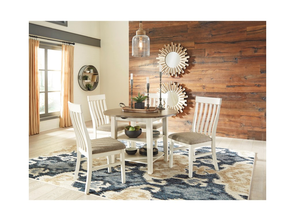 Benchcraft Bardilyn5-Piece Drop Leaf Table Set