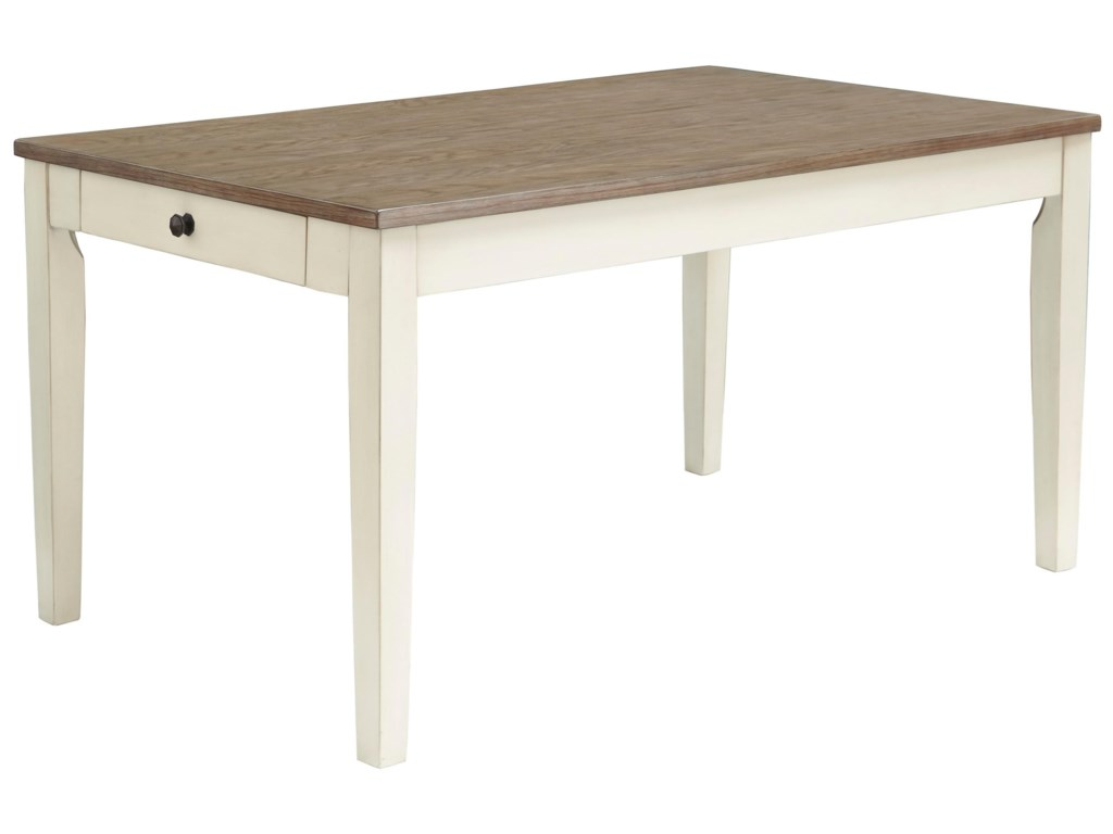 Benchcraft by Ashley BardilynRectangular Dining Room Table