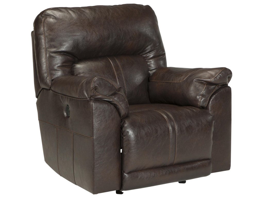 Benchcraft Barrettsville DuraBlend®Power Rocker Recliner