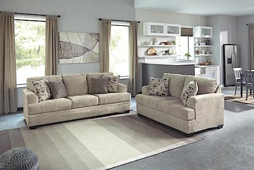 Benchcraft Barrish Stationary Living Room Group