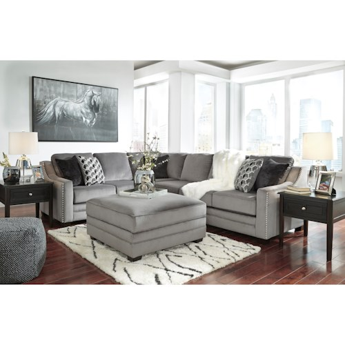 Benchcraft Bicknell Stationary Living Room Group