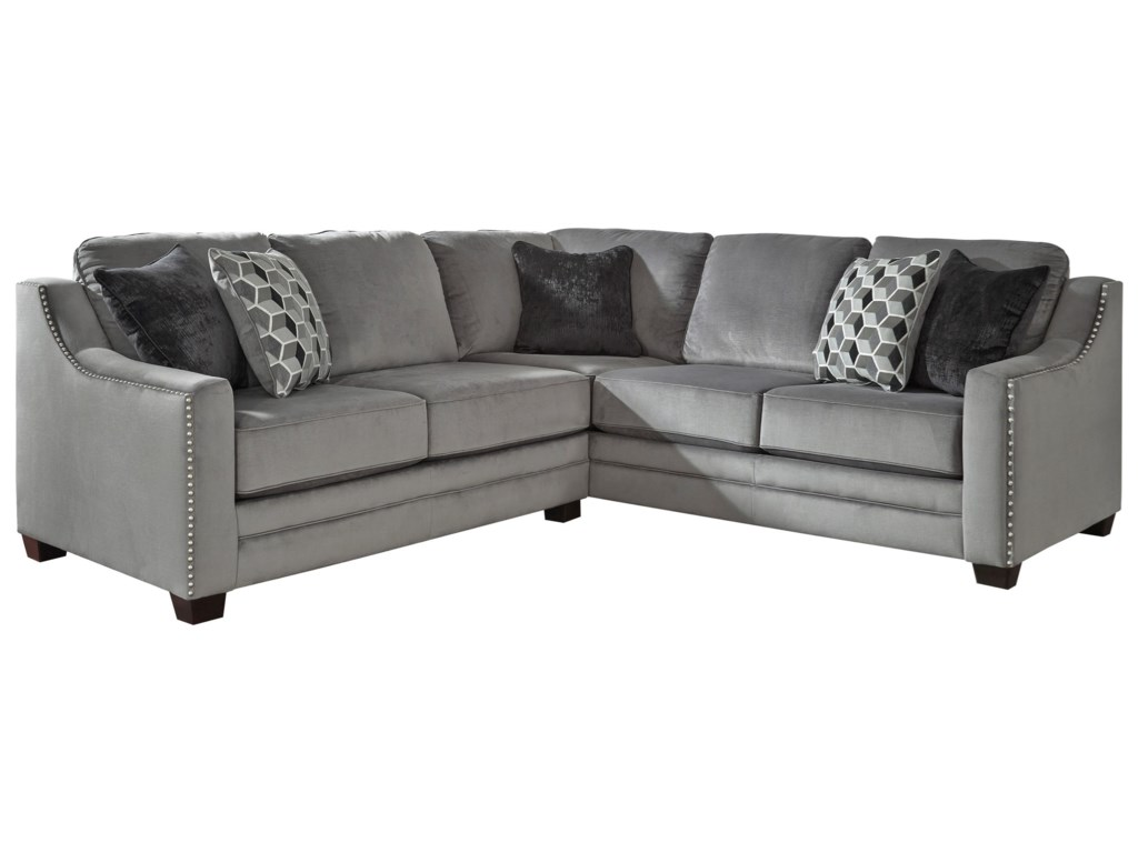 Benchcraft Bicknell2-Piece Sectional with Left Loveseat