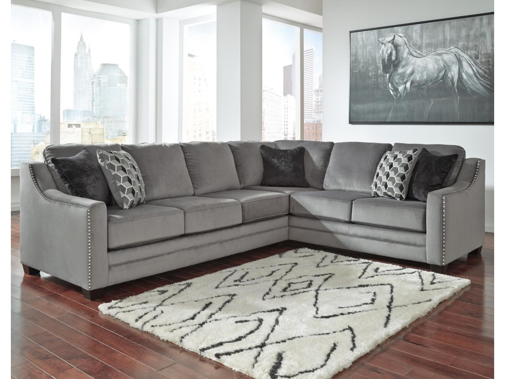 Benchcraft Bicknell2-Piece Sectional with Left Sofa
