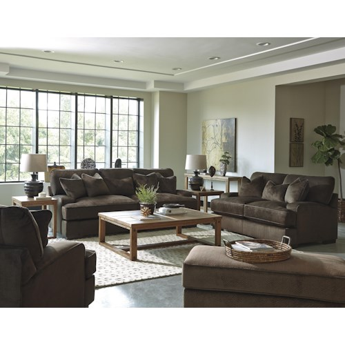 Benchcraft Bisenti Stationary Living Room Group