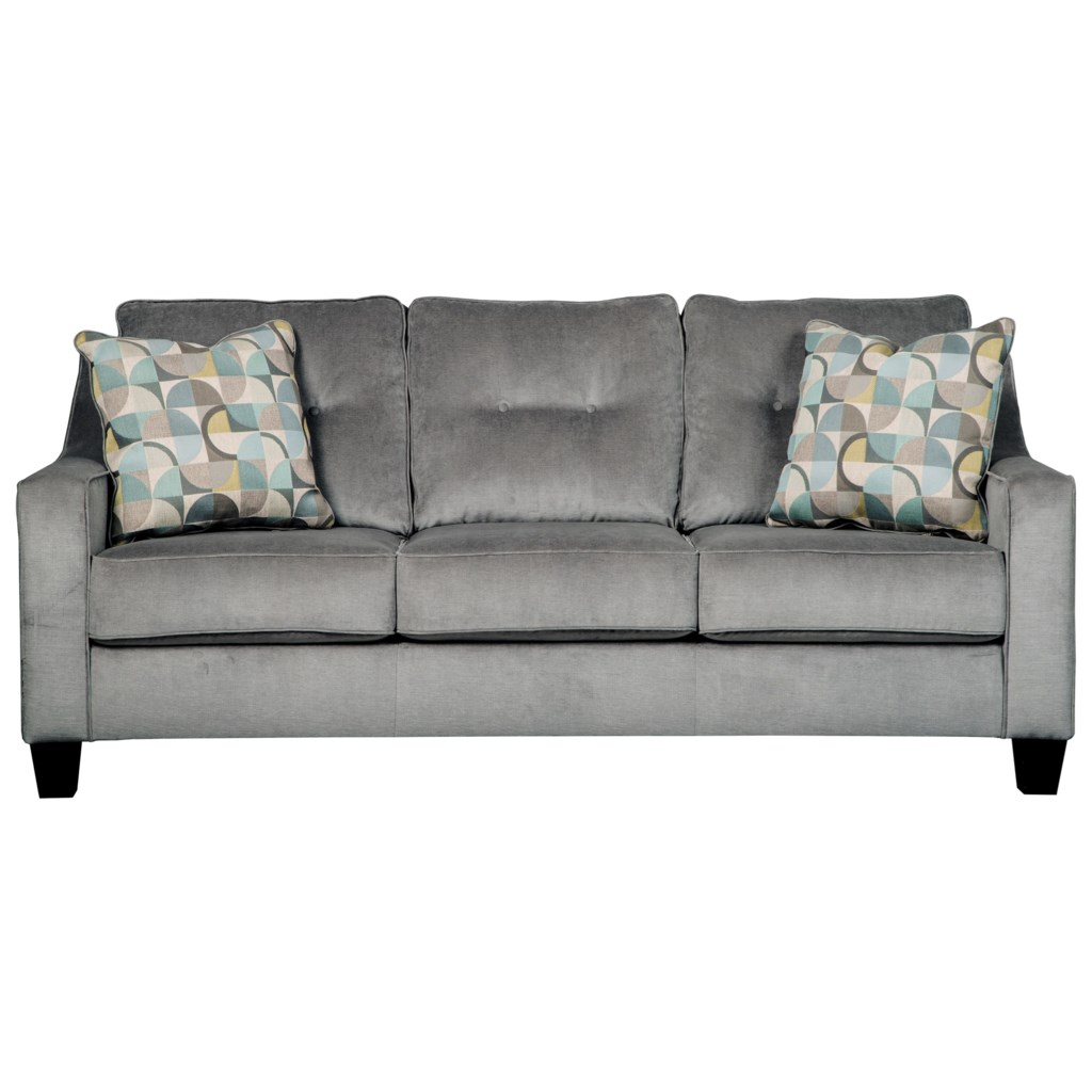 Benchcraft Bizzy 6950339 Mid Century Style Queen Sofa Sleeper