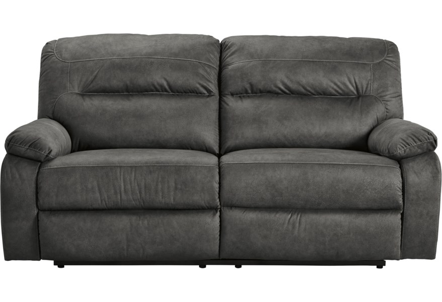 Bolzano Casual 2 Seat Reclining Sofa by Benchcraft by Ashley at Coconis  Furniture & Mattress 1st