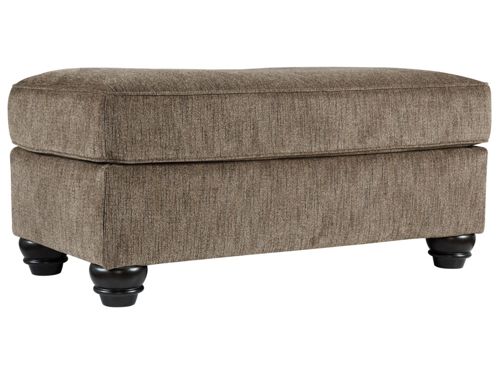 Signature Design By Ashley BraemarChair and a Half with Ottoman