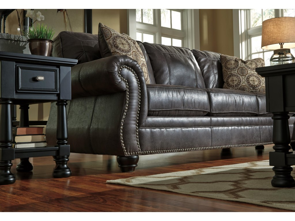 Benchcraft Leather Sofa Refil Sofa