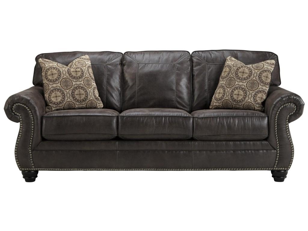 Faux Leather Queen Sofa Sleeper