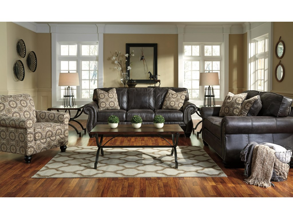 Signature Design By Ashley BrevilleQueen Sofa Sleeper