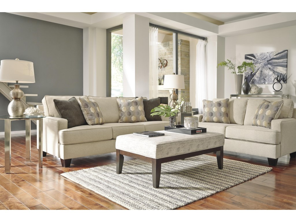 benchcraft brielyn stationary living room group virginia furniture