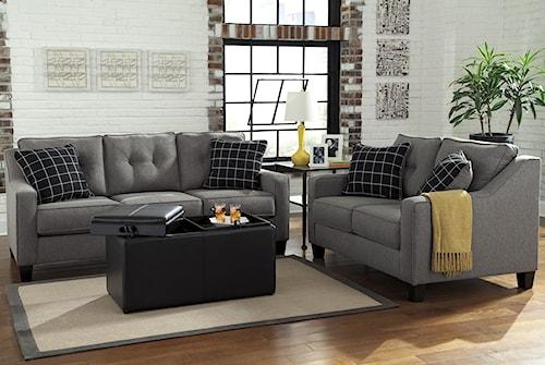 Benchcraft Brindon Stationary Living Room Group